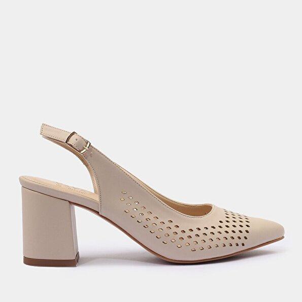 Resim Kemik Yaya Kadın Topuklu Ayakkabı