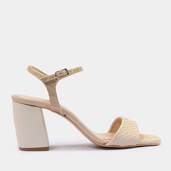 Resim Kemik Kadın Sandalet