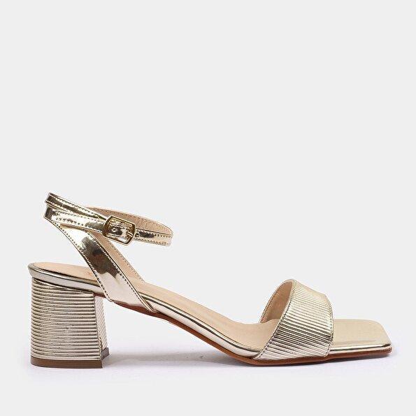 Resim Gold Kadın Sandalet