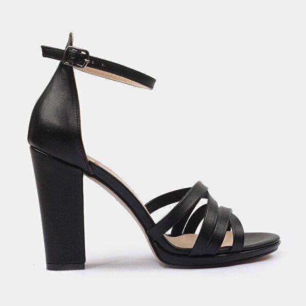 Resim Siyah Kadın Sandalet