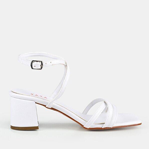 Resim Beyaz Kadın Sandalet