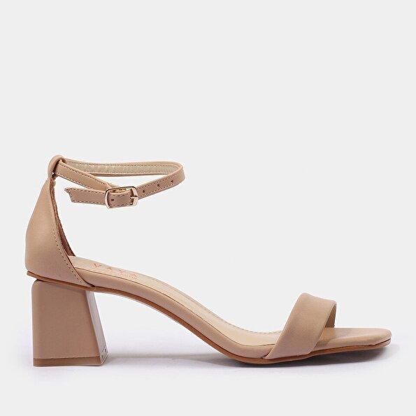 Resim Pudra Kadın Sandalet