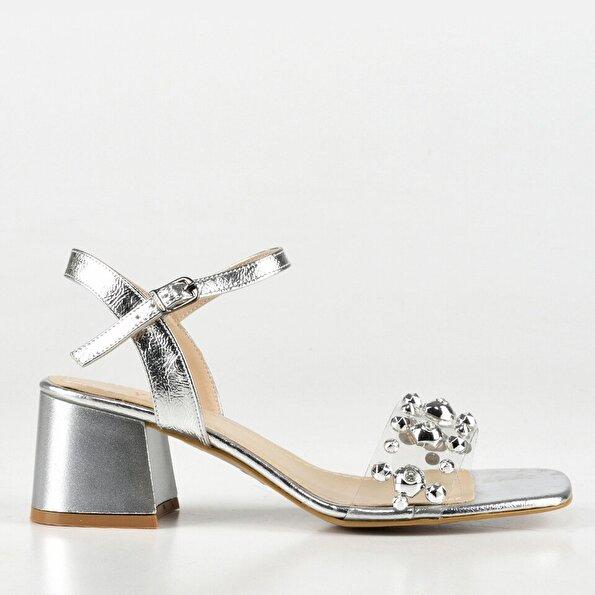 Resim Lame Kadın Sandalet