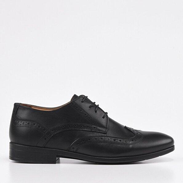 Resim Siyah Yaya Erkek Günlük Ayakkabı