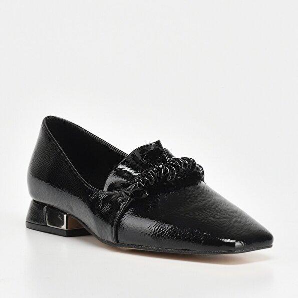 Resim Siyah Kadın Loafer
