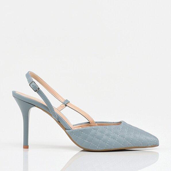 Resim Mavi Kadın Stiletto