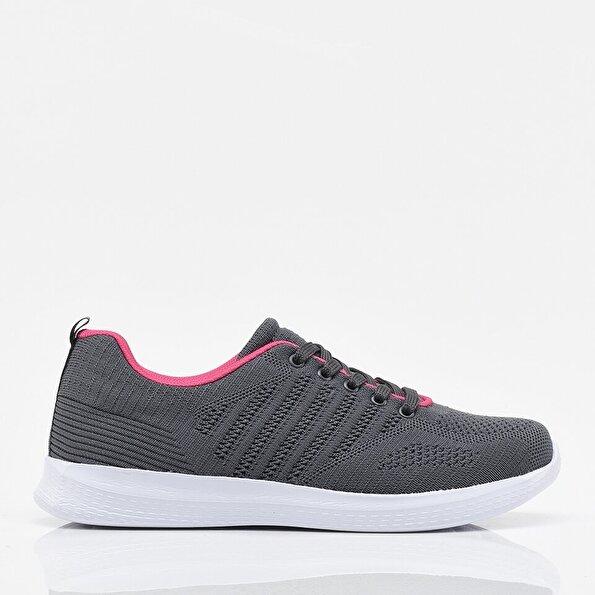 Resim Antrasit Yaya Kadın Spor Ayakkabı