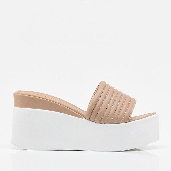 Resim Vizon Yaya Kadın Sandalet & Terlik