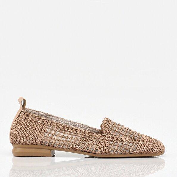 Resim Vizon Yaya Kadın Günlük Ayakkabı