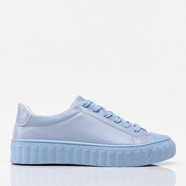 Resim Açık Mavi Yaya Kadın Spor Ayakkabı