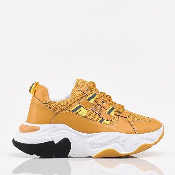 Resim Sarı Yaya Kadın Spor Ayakkabı