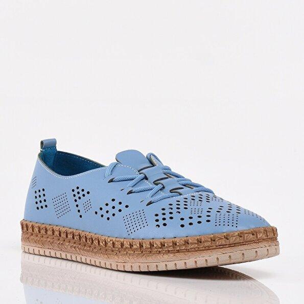 Resim Açık Mavi Yaya Kadın Günlük Ayakkabı
