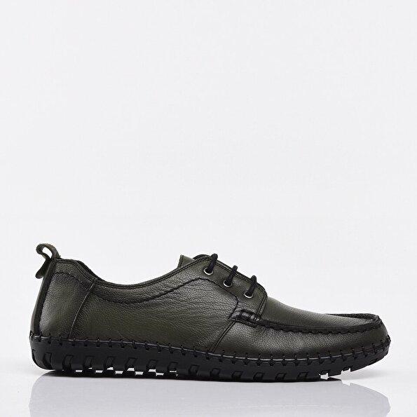 Resim Hakiki Deri Haki Yaya Erkek Günlük Ayakkabı