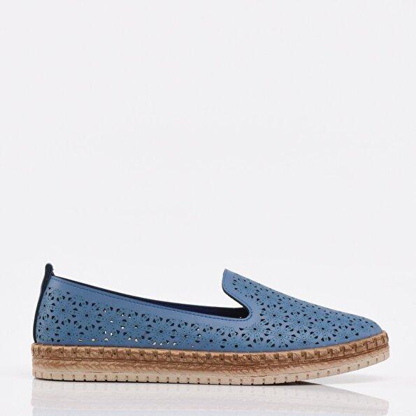 Resim Mavi Yaya Kadın Günlük Ayakkabı