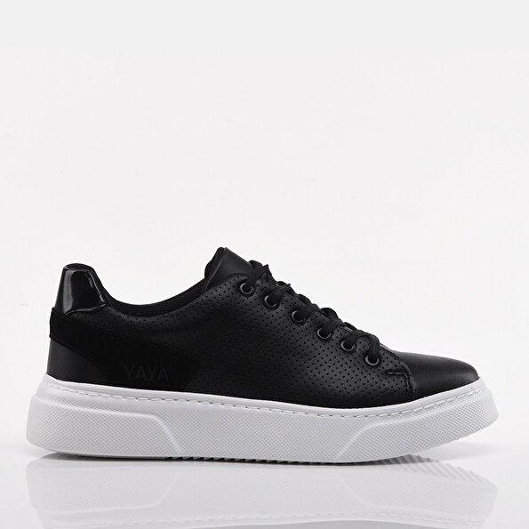 Resim Siyah Yaya Erkek Spor Ayakkabı