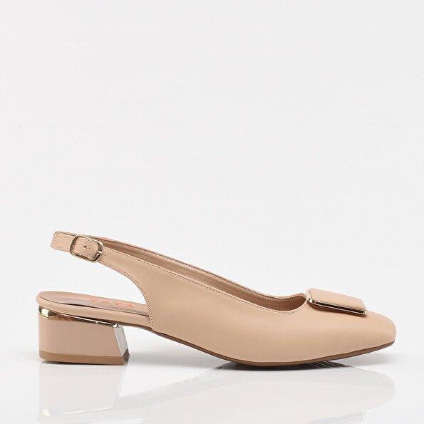 Resim Naturel Yaya Kadın Topuklu Ayakkabı
