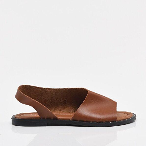 Resim Taba Yaya Kadın Sandalet & Terlik