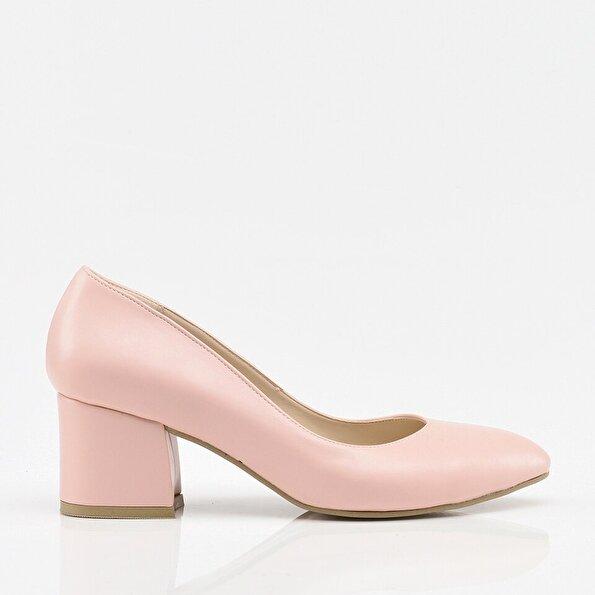 Resim Pudra Yaya Kadın Topuklu Ayakkabı