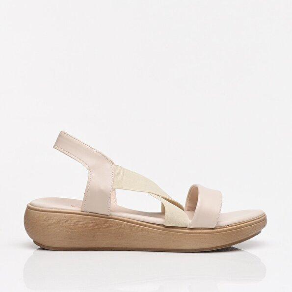 Resim Kemik Yaya Kadın Sandalet & Terlik