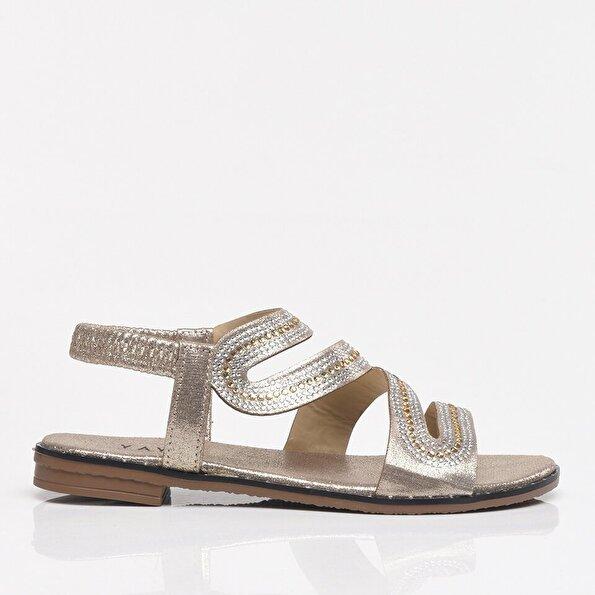 Resim Gold Yaya Kadın Sandalet & Terlik