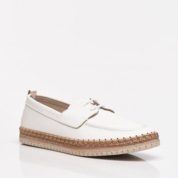 Resim Beyaz Yaya Kadın Günlük Ayakkabı