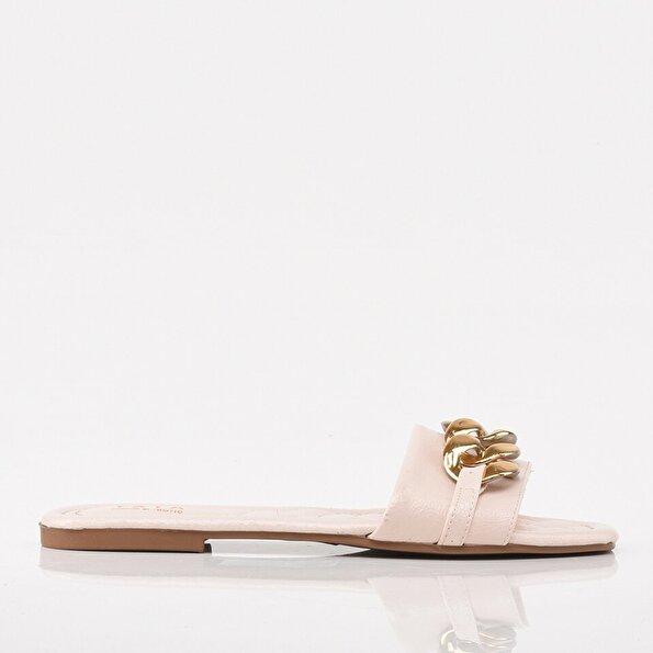Resim Pudra Yaya Kadın Sandalet & Terlik