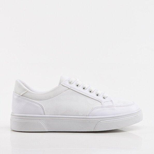 Resim Beyaz Yaya Kadın Spor Ayakkabı