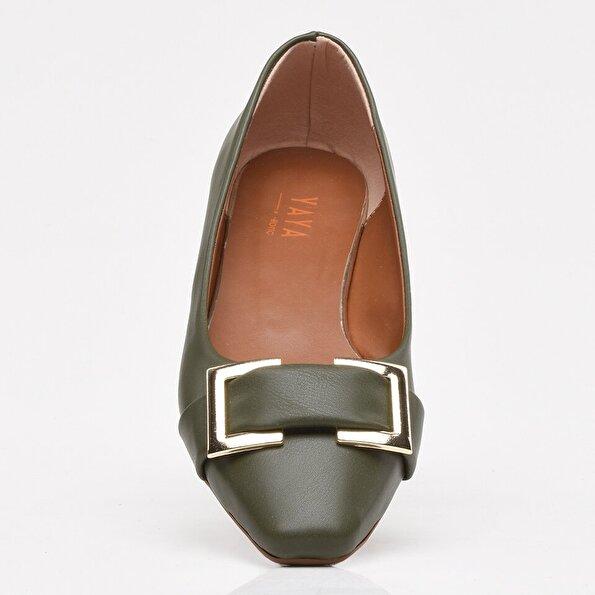 Resim Haki Yaya Kadın Günlük Ayakkabı